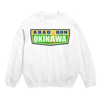 ABADDON OKINAWA GREEN LOGO スウェット