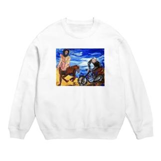 バッドアート バイクと競争ケンタウルス Sweats