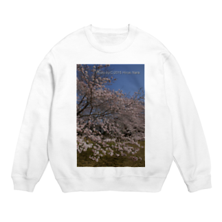 hiroki-naraの満開の桜 Sweats