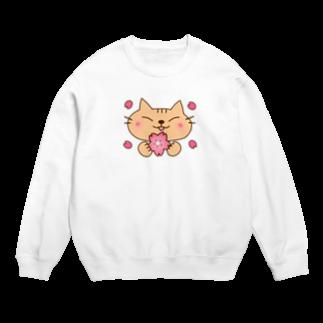 eigoyaの桜と茶トラ猫 Sweats