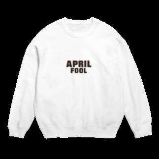 グラフィンの4月1日エイプリルフール用デザイン April fool Sweats