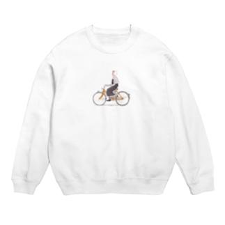 自転車に乗って Sweats