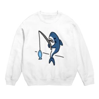 釣りをするサメ Sweats