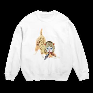 Rock catのCAT GIRL FISH Sweats