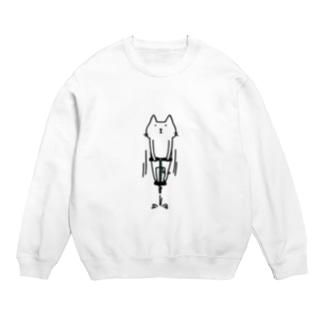 ホッピング猫 Sweats