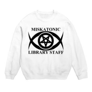 AURA_HYSTERICAのMISKATONIC LIBRARY STAFF Sweats