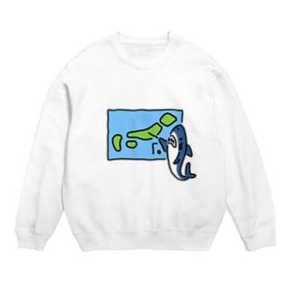 天気を予想するサメ Sweats