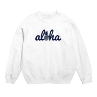 aloha(star)018 navy Sweats