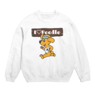I Love Poodle(ランニングプードル) Sweats