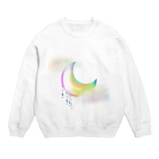 BlossomsArchiveの月(反射バージョン) Sweats
