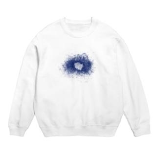 HIBIKI SATO Official Arts.のスネア打痕 BLUE Sweats