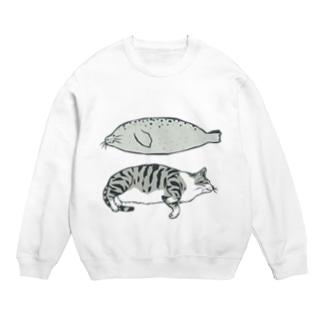 猫とアザラシ Sweats
