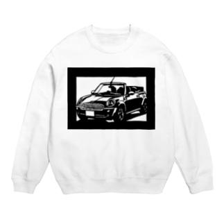 BMW miniカブリオレ切り絵デザイン Sweats