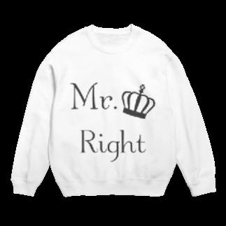 Mr.Rightのおしゃれな千鳥柄ファッションMr.Right Sweats