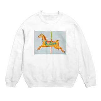 carousel watercolor Sweats
