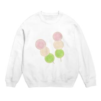 yuuオリジナルイラスト17 和菓子-三色だんご Sweats
