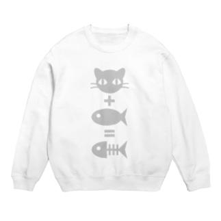 猫+魚=骨 Sweats