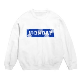Blue MONDAY Sweats