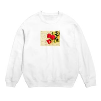 TK-marketの薔薇 Tシャツ Sweats