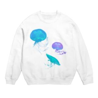 Jelly Fish #Blue Sweats