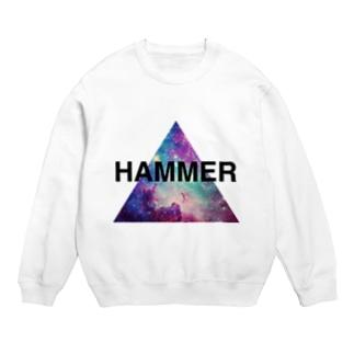 HAMMER/スウェット/白 Sweats