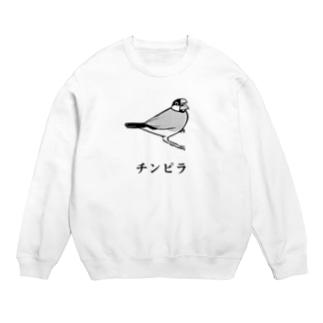 チンピラ桜文鳥 Sweats