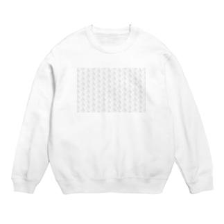 のんすけロゴパターン(透明) Sweats