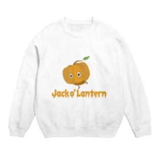 カボチャ頭 Jack o' Lantern Sweats