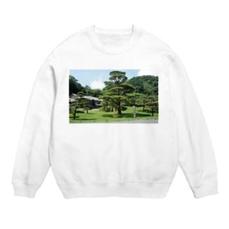 仙巌園の松 Sweats