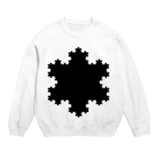 Fractal Koch Snowflake Sweats