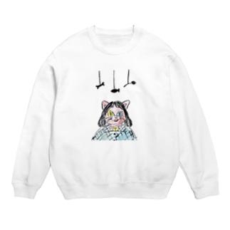 【 数量限定 】 「 キャット少女 」 猫 Tシャツ 帽子 など Sweats