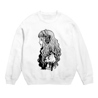 ロリィタちゃん-モノクロ- Sweats