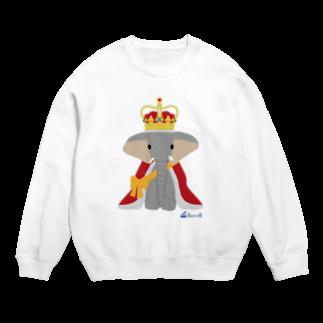 3pondSのゾウの王様 スウェット