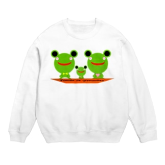 Famille de grenouilles Sweats