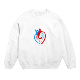 ハートの心臓 Sweats