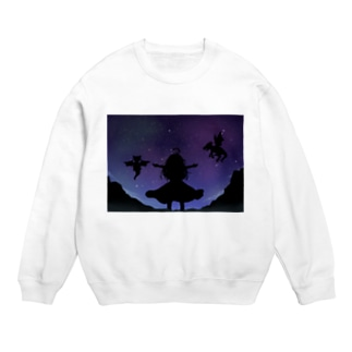夜空と少女とドラゴン Sweats