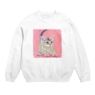 萌獣 猫 ユニャコーン/ゆにゃんこ:アポロ Sweats