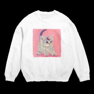 萌獣ファクトリーの萌獣 猫 ユニャコーン/ゆにゃんこ:アポロ Sweats