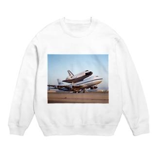 スペースシャトル&ボーイング747改 Sweats