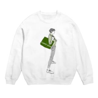 """Green"" いけめんファッショニスタ Sweats"