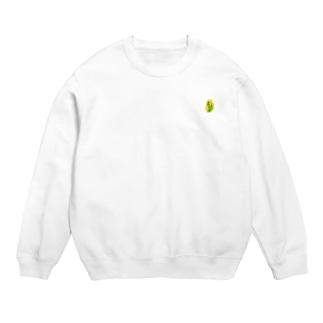 セキセイインコ黄緑 スウェット