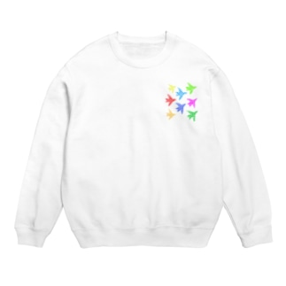 colorful wings Sweats