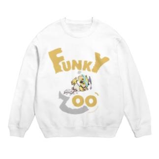 フクロウ 〜FUNKY ZOO〜 スウェット