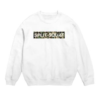 SPLIT SQUAT カモ柄BOXロゴ Sweats