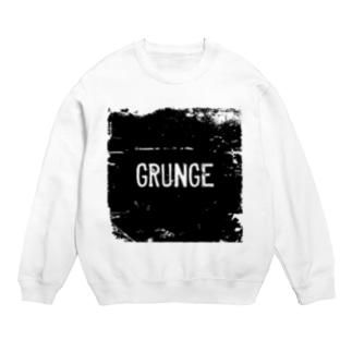 GRUNGE-グランジ-BOXロゴTシャツ Sweats