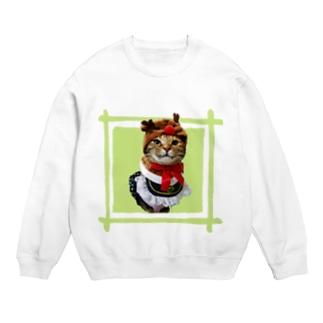 猫プリンちゃんクリスマスver Sweats