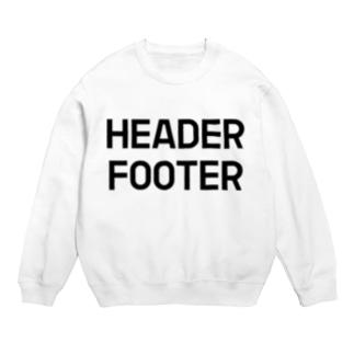 HEADER FOOTER Sweats