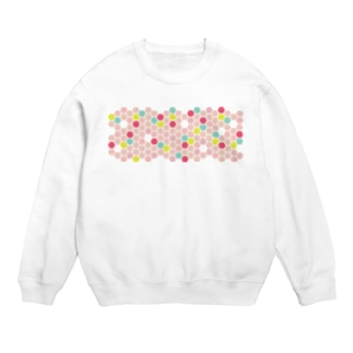 pink honeycomb Sweats