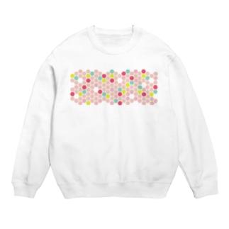 pink honeycomb Sweats