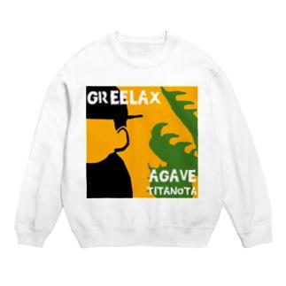 GREELAX コラボ パキポキ Sweats